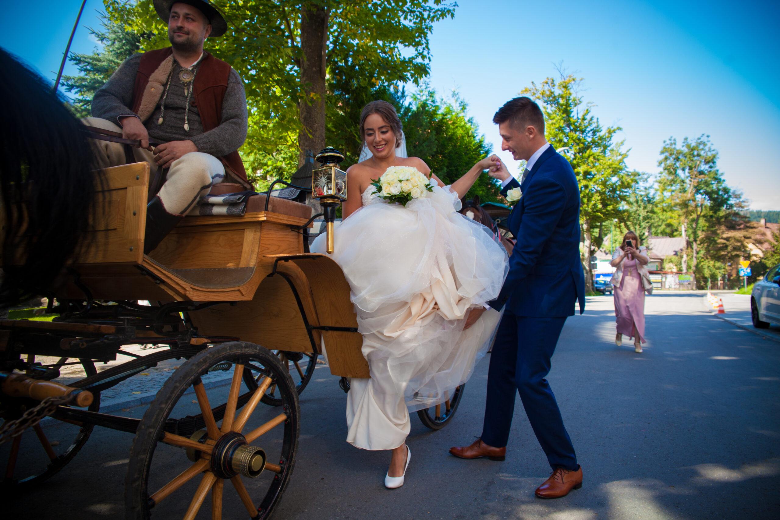Wedding in ZakopaneDominika and Jakub 1